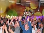 Jubelndes Publikum bei Auftritt