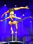 Akrobatik beim 9. Holzgerlinger Variete