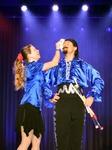 Mann und Frau auf der Bühne